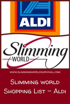 Shopping List for Slimming World Friendly Items from Alsi. Low Syn and Syn Free. #slimmingworld