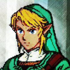 Link - The Legend of Zelda hama beads by aguantemegadeth