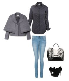 """Outfit, byMi Blouse """"Always Amazing black"""""""