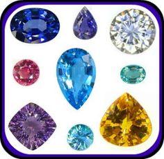 Birthstones: Identifying your Birthday Gemstones    www.jwiesnerinventory.com