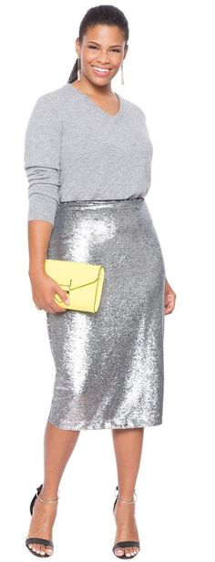 A sequin garment is always the best idea for a Christmas or a New Year's outfit. If you don't want to wear a sequin dress, we have some excellent suggestions with sequin skirts for you.