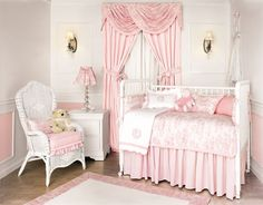 Set our nursery drapes/valance came from...we can never afford anything else from this collection but I'm pinning so I won't forget the name of it!
