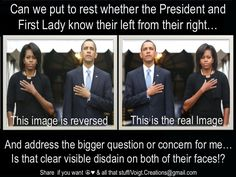 Another image going around trying to depict that President and First Lady as ignorant... Can we just focus on the facts please?