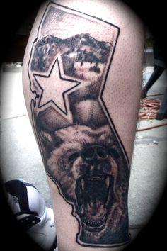 california tattoos on pinterest california bear tattoos cali tattoo and guam tattoo. Black Bedroom Furniture Sets. Home Design Ideas