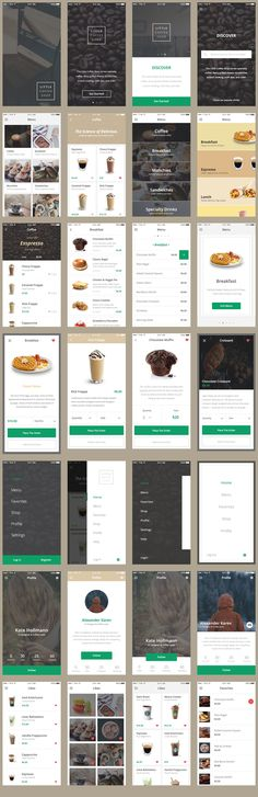 Free Vector Ecommerce Mobile App UI Kit