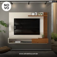 Modern Tv Unit Designs, Modern Tv Wall Units, Living Room Tv Unit Designs, Modern Tv Cabinet, Tv Unit Interior Design, Tv Unit Furniture Design, Tv Cabinet Design, Tv Wall Design, Bedroom Tv Wall