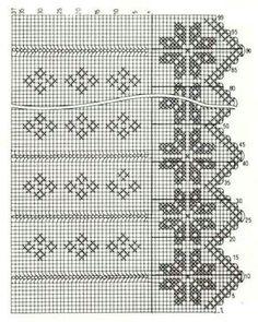 Picasa Web Albums - filet crochet apron pattern diagram.