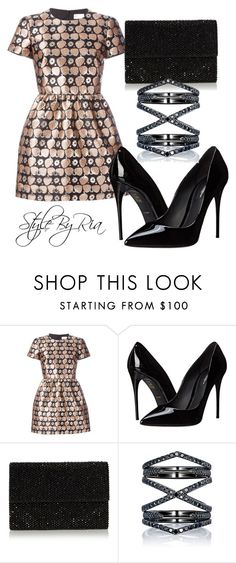 """""""partywear"""" by stylebyria ❤ liked on Polyvore featuring RED Valentino, Dolce&Gabbana and Eva Fehren"""