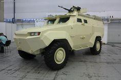 В чем секрет украинского бронеавтомобиля «Тритон-01»
