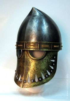 Phyrgian helmet - used by XII - XIII sicillian normans