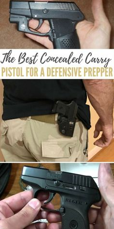 The Best Concealed Carry Pistol for a Defensive Prepper - list Survival Weapons, Survival Prepping, Survival Skills, Survival Gear, Emergency Preparedness, Wilderness Survival, Survival Quotes, Tactical Survival, Survival Tattoo