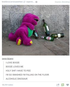 Go home Barney, you are drunk...