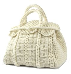 The Betty Bag - Haute Couture Hand Bag Knitting Patterns