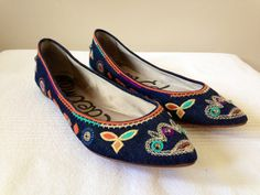 Sam Edelman Devon Rhinestones Shoes Flats Size 8M Womens NEW by AgisCuteCollections on Etsy https://www.etsy.com/listing/166505372/sam-edelman-devon-rhinestones-shoes