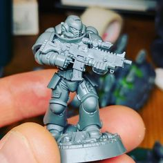 My urge to break and remake is probably why I can't have nice things. #primaris #New40k #warmongers