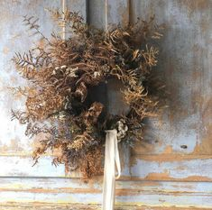 Autumn Wreaths, Holiday Wreaths, Christmas Decorations, Dried Flower Wreaths, Dried Flowers, Flower Farmer, Winter Flowers, How To Make Wreaths, Floral Wreath