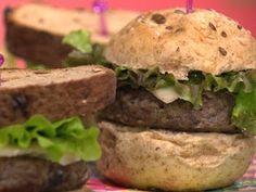 "O hambúrguer de berinjela, além de saboroso, é, digamos,""medicinal""."