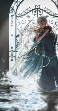 Emiya Kiritsugu & Irisviel von Einzbern - Fate/Zero #FZ #fanart