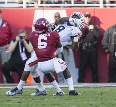 Alabama's defense hasn't allowed a touchdown in 35 days and counting. Its latest victim was Auburn as the Tide prevailed, 30-12, Saturday.