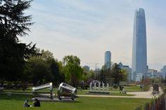 Parque de las Esculturas Providencia Santiago de Chile