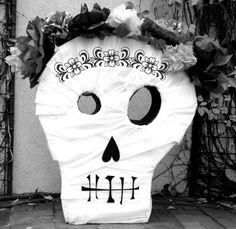 DIY Skull Pinata - DIY Craft Kits, Monthly Craft Projects, Supplies, Subscription Box   Whimseybox