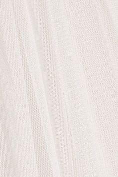 Needle & Thread - Tulle Maxi Skirt - Ivory - UK14