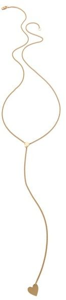 Jennifer zeuner jewelry Heart Lariat Necklace