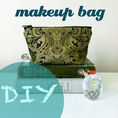 owlswakeup: DIY Makeup Bag