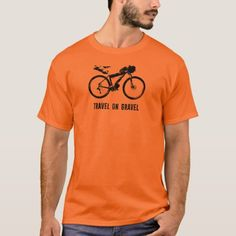 Travel On Gravel Bikepacking T-Shirt   cycling quote, best cycling, cycling design #cobbledclassics #liegebastogneliege #liegebastogneliegefemmes, 4th of july party Cycling Quotes, Cycling Tips, Motorcycle Outfit, Motorcycle Girls, Cycling Workout, Tshirt Colors, Fitness Models, Tie Dye, Unisex
