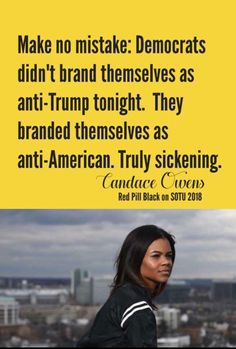 "Love Candace, she is ""woke"" and got off of the demoncraps modern Plantation."