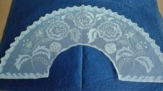Valance Curtains, Decor, Hand Fan, Tulle, Tulle Lace, Hand Embroidery, Hearts Of Palms, Sewing Crafts, Saddle Pads