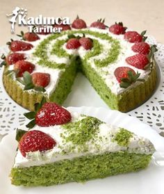 Spinach Tart Cake Recipe, How to Make Best Cake Recipes, My Recipes, Spinach Tart, Homemade Beauty Products, Everyday Food, Food Cakes, Yummy Cakes, Avocado Toast, Cheesecake