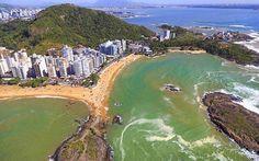 PRAIA DA SEREIA EM VILA VELHA, BRAZIL