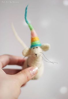 This little needle felted Mouse was born in Sofia a few days ago. He has red hat and while waiting for Santa hes sitting on the fireplace. I use felt needle techniques and 100% pure wool form Bulgaria. I dye the wool by my self to achieve the right colors.  Size in centimeters: 7 cm high  Size in inches: 2.8 high  Each of my dolls are:  Created with love. Handmade by me. My own model. Made of 100% sheep wool.  I make all my items with love and I hope youll like them.  If you have questions…