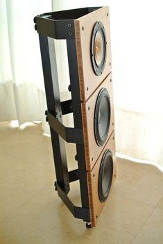 Tower10 TB Trio Open Baffle Speakers