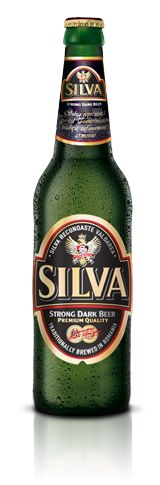 Silva Strong Dark Beer is a premium beer launched in 1996 after a Belgian recipe, with an alcohol concentration of 7.0% and a primary extract of 16 º P.