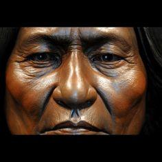 Sitting Bull. Legends of the Americas by Sunti Pichetchaiyakul. Bronze