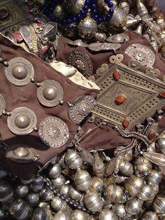 Afghani Tribal Jewelry