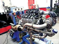 GM 5.3L with Turbo from China = 594 HP