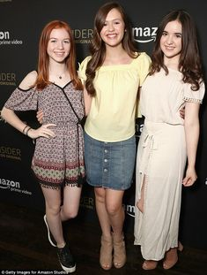 Wand-erful: Just Add Magic's Abby Donnelly, Olivia Sanabia and Aubrey K Miller were there