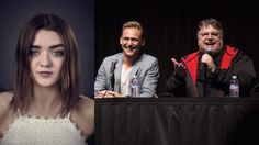 EP709 (from SDCC 2015): Nerdist Podcast: Live at SDCC with Maisie Williams, Tom Hiddleston and Guillermo Del Toro