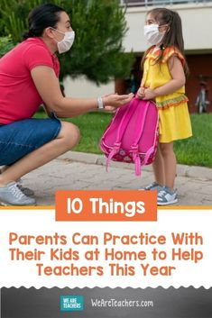 5 Things Parents Can Practice With Their Kids at Home to Help Teachers This Year. This year is like no other and teachers need help. These 5 ways parents can help teachers allows for social distancing and grace. #parenting #teaching #teacher #teacherlife #backtoschool #learningathome Letter To Parents, Parents As Teachers, Parent Teacher Communication, 5 Things, Whats New, Kids House, 5 Ways, Lesson Plans, Back To School