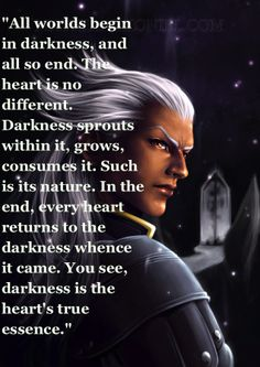Kingdom Hearts Quotes My Favorite Meaningful Quote From Kingdom Hearts Iigot It