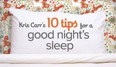How to Sleep Better: