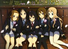 Tainaka Ritsu, Akiyama Mio, Nakano Azusa, Hirasawa Yui, Kotobuki Tsumugi