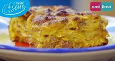 I Menu di Benedetta a #MoltoBene: Lasagne Zucca e Salsiccia