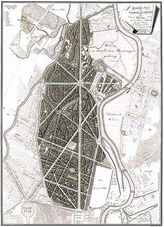 Tiergarten 1833 - Großer Tiergarten .