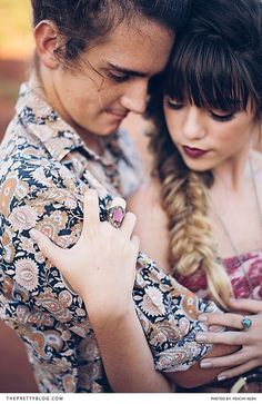 Hair in a fishtail plait and boho outfit | Peachy Keen Photography |  Hair: Laurian De Beer | Make-up: Kerry-Lee Greco | Wreath: Dear June | Clothes and Styling: Tayla Lange |