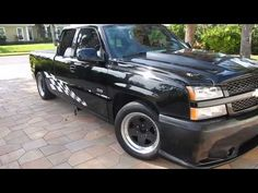 2004 Chevrolet Silverado SS Custom Race and Street Truck for sale - YouTube