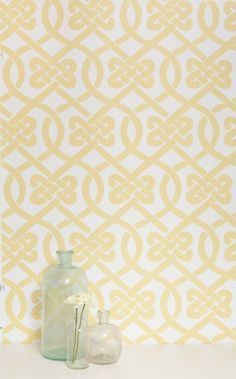 Knotted $195.00 #kimberlylewishome #wallpaper #home #interior #MTO #yellow
